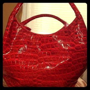 Lustrous Red Gianni Bini Bag